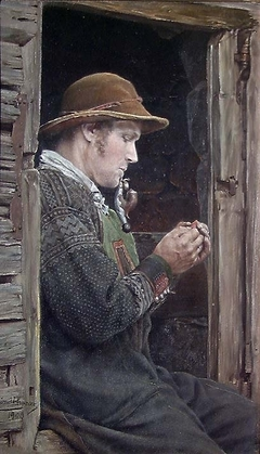 Setesdal Peasant with Pipe
