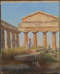 Shepherd boy in the temple, Paestum