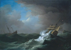 Ships in Distress in a Storm