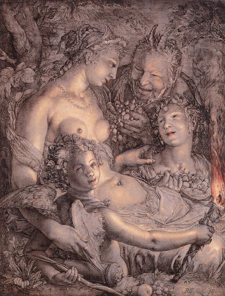Sine Cerere et Libero friget Venus (Without Ceres and Bacchus, Venus Would Freeze)