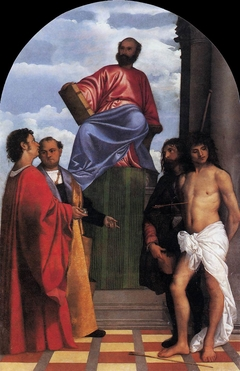 St. Mark Enthroned