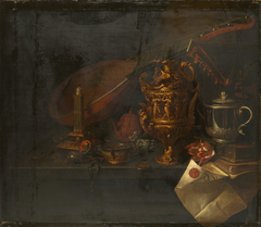 Still Life with a Theorbo