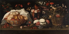 Still Life with Flowers and Sweets