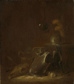 Still life with implements of war
