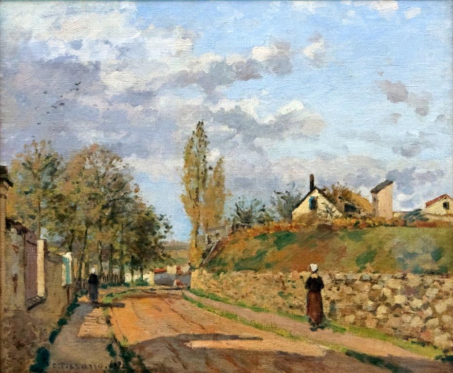 Street in Pontoise