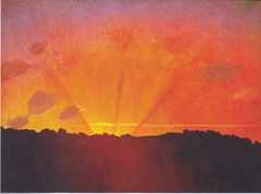 Sunset, Orange Sky