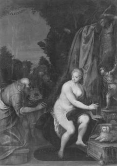 Susanna und die beiden Alten (zugeschrieben)