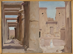 Temple. From the journey to Egypt