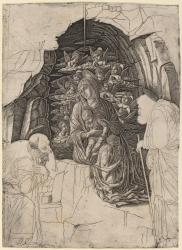 The Adoration of the Magi (Virgin in the Grotto)