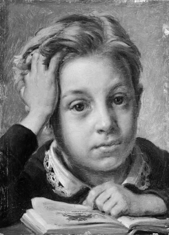 The Artist's Son Holger at the Age of Ten