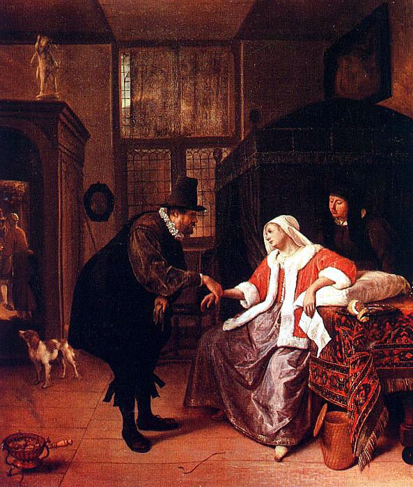 The Doctor's Visit (Alte Pinakothek)