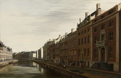 The 'Golden Bend' in the Herengracht, Amsterdam, Seen from the West