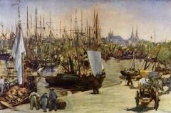 The harbour at Bordeaux