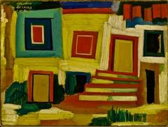 The little bright house - Landscape