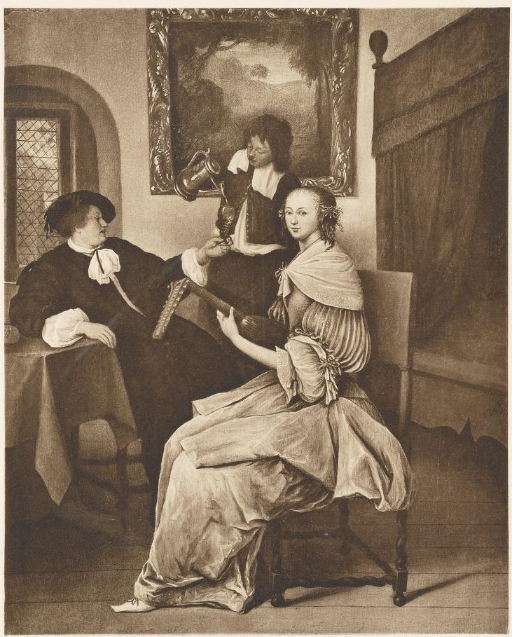 The Luteplayer, or Family scene