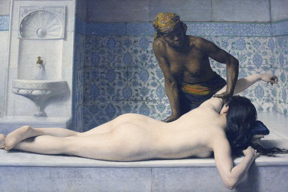 Le Massage au Hamam