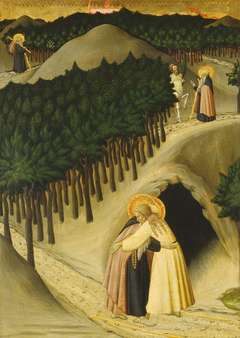 The Meeting of Saint Anthony and Saint Paul