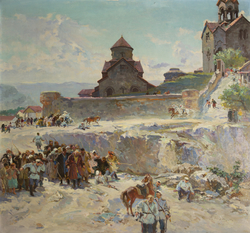 The revolt of peasants from Haghpat in 1903