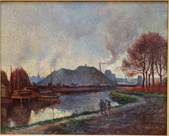 The River Sambre at Charleroi