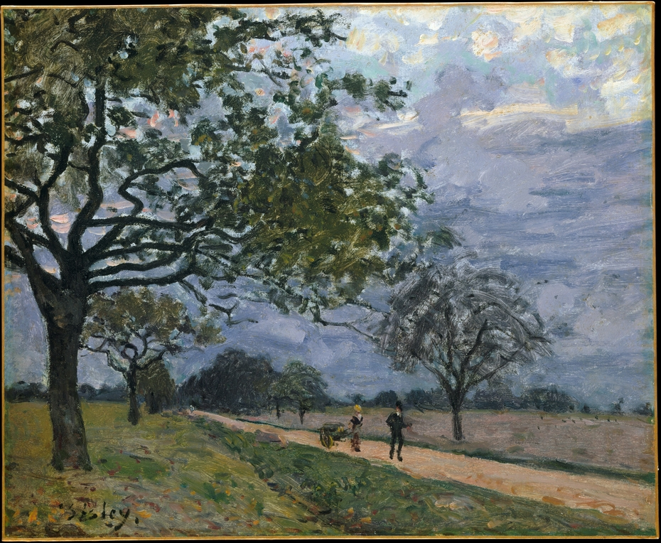 The Road from Versailles to Louveciennes