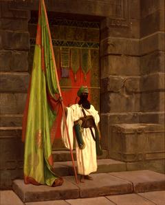 The Standing Bearer, Unfolding the Holy Flag