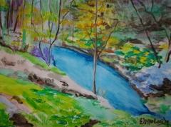 The stream of Pikrodaphne