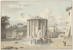 The Temple of Vesta in Rome