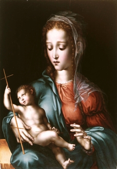 The Virgin and Child with a Spindle