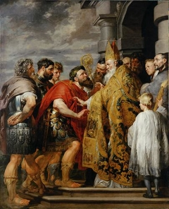 Theodosius and Saint Ambrose (Rubens)
