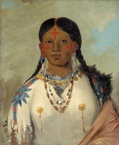 Tís-se-wóo-na-tís, She Who Bathes Her Knees, Wife of the Chief