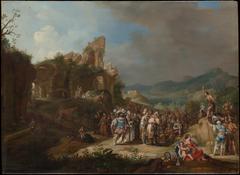 The Preaching of John the Baptist