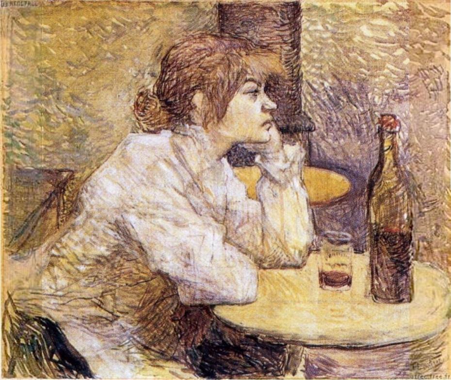 Portrait de Suzanne Valadon (The hangover)