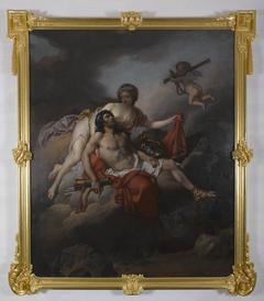Vénus apportant des armes à Énée