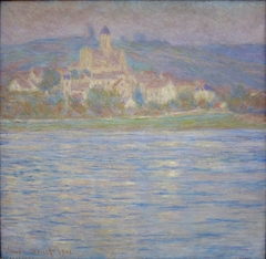 Vetheuil in the morning