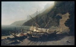View at Amalfi, Bay of Salerno