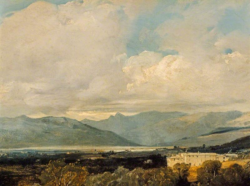 View near Sarzana, Val di Magra