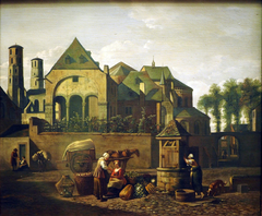 View of the Church of St. Maria im Kapitol, Cologne
