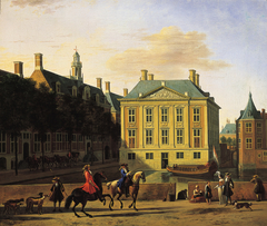 View of the Mauritshuis in the Hague