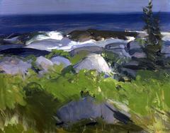 Vine Clad Shore--Monhegan Island