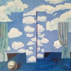 Wasted Effort (La Peine Perdue), after Magritte