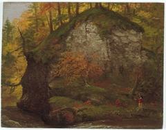 Watkins Glen; verso: Landscape