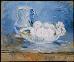 White Flowers in a Bowl