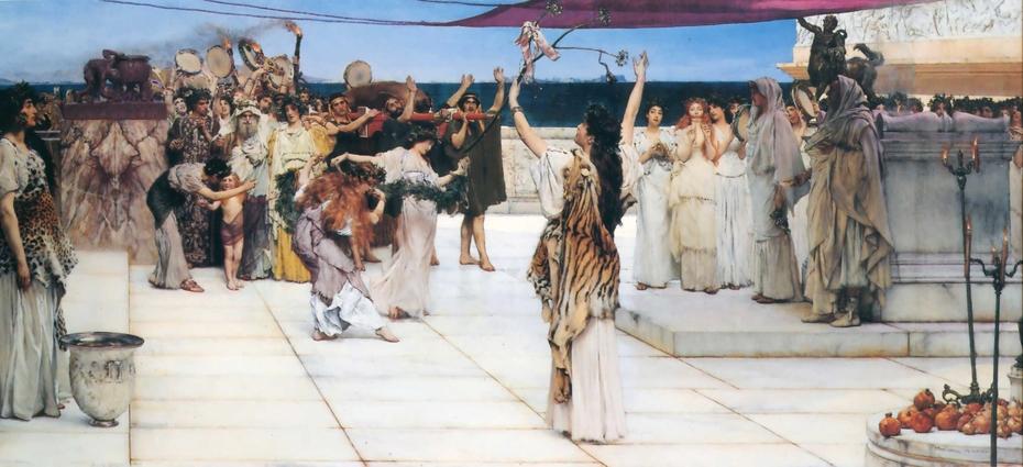 A dedication to Bacchus