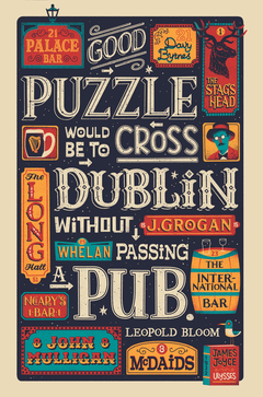 A Good Puzzle Would be to Cross... 'James Joyce'