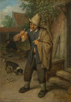 A Man with Jug and Pipe (Taste)