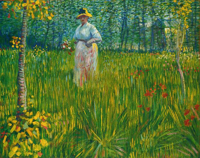 Marie Louise Garnavault - Pink Lady, Impressionist