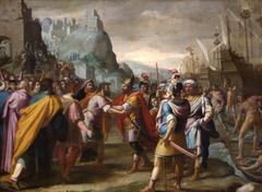 Abraham et Melchisedech