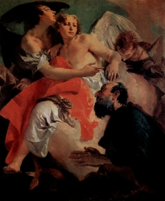 Abraham Praying before the Three Angels by Giovanni Battista Tiepolo
