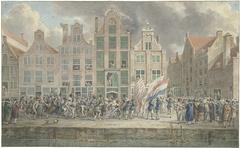 Anti-Engelse demonstratie te Rotterdam, 2 maart 1781