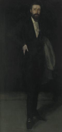 Arrangement in Black: Portrait of F. R. Leyland
